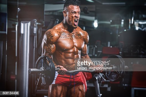No Pain, No Gain : Stock Photo