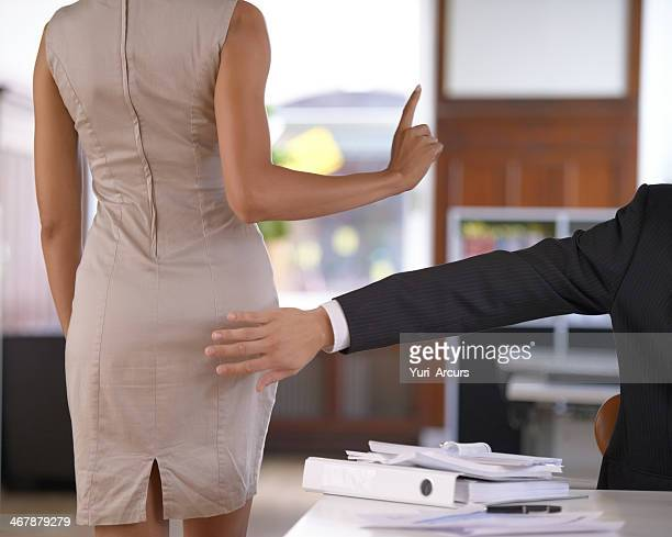 No sexual harassment at the office!