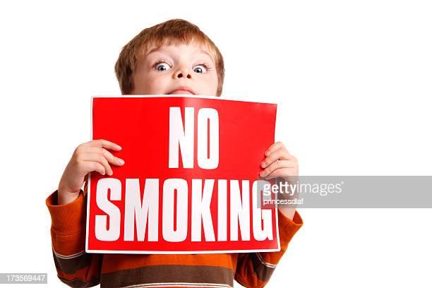 No Smoking! He's Watching!