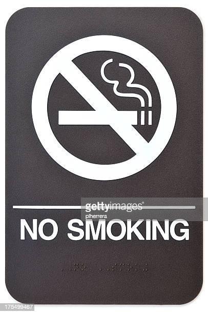 Cartello di divieto di fumo
