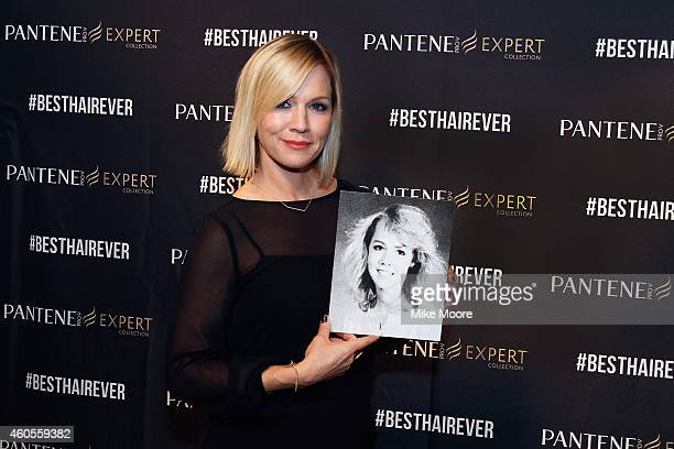 No stranger to 90s hair Actress Jennie Garth shows off her high school yearbook photo and celebrates her best hair ever at the Pantene Expert reunion...