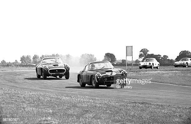 No7 Stirling Moss in a Ferrari 250 GT SWB won the race and Mike Parkes also in Ferrari 250 GT SWB finished 2nd St Mary's Corner Tourist Trophy...