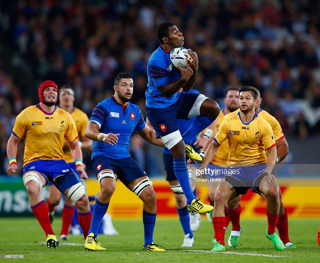 France v Romania - Group D: Rugby World Cup 2015