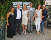 Noa Pascal Vicedomini Kerry Kennedy Riccardo Monti Anna Safroncik and Tony Renis attend the 'Ischia Global Film Music Fest' press conference at Hotel...