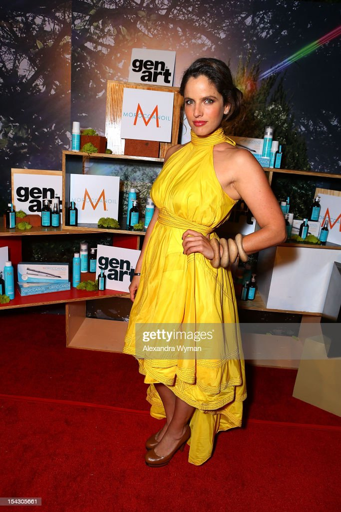 Noa Tishby at The Gen Art 14th Annual Fresh Faces In Fashion Presented By Moroccan oil held at Vibiana on October 17, 2012 in Los Angeles, California.