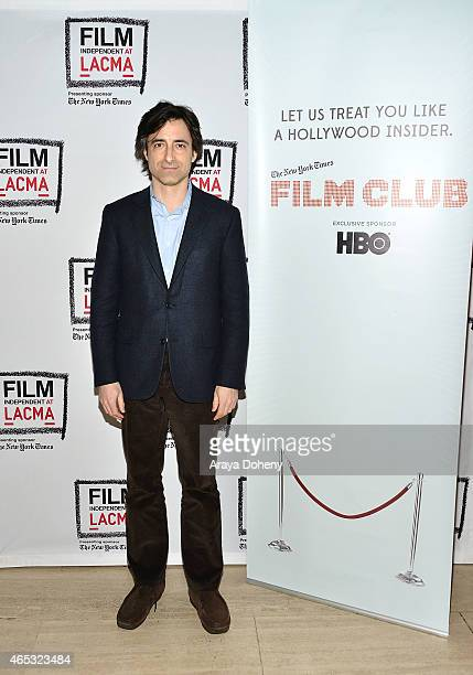Noah Baumbach attends the Film Independent at LACMA presents 'While We're Young' screening at Bing Theatre at LACMA on March 5 2015 in Los Angeles...