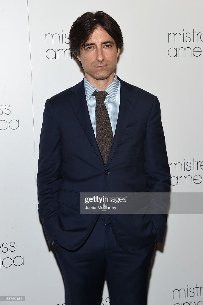 <a gi-track='captionPersonalityLinkClicked' href=/galleries/search?phrase=Noah+Baumbach&family=editorial&specificpeople=841432 ng-click='$event.stopPropagation()'>Noah Baumbach</a> attends the 'Mistress America' New York Premiere at Landmark Sunshine Cinema on August 12, 2015 in New York City.