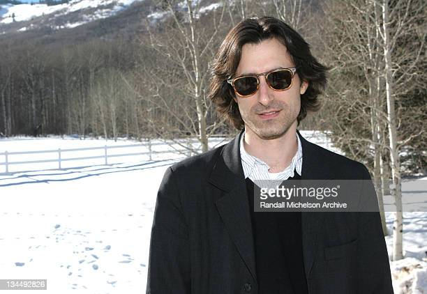 Noah Baumbach during 2005 Sundance Film Festival 'The Squid and The Whale' Outdoor Portraits at Park City in Park City Utah United States