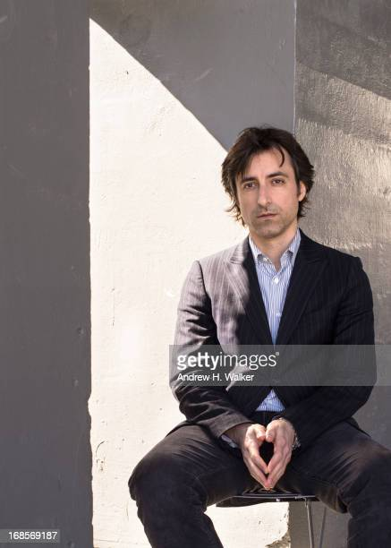 Noah Baumbach poses for a private photo shoot on the Highline on April 17 2013 in New York City