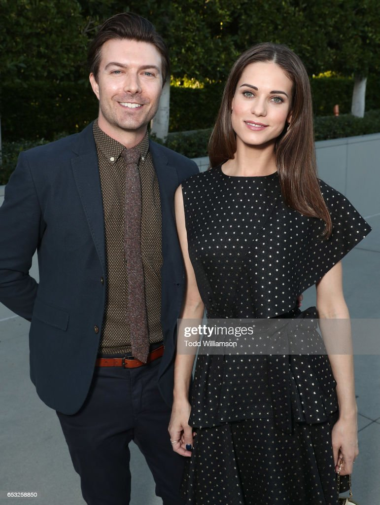 Noah Bean and Lyndsy Fonseca attend the UCLA Institute Of The Environment And Sustainability Celebrates Innovators For A Healthy Planet on March 13, 2017 in Beverly Hills, California.