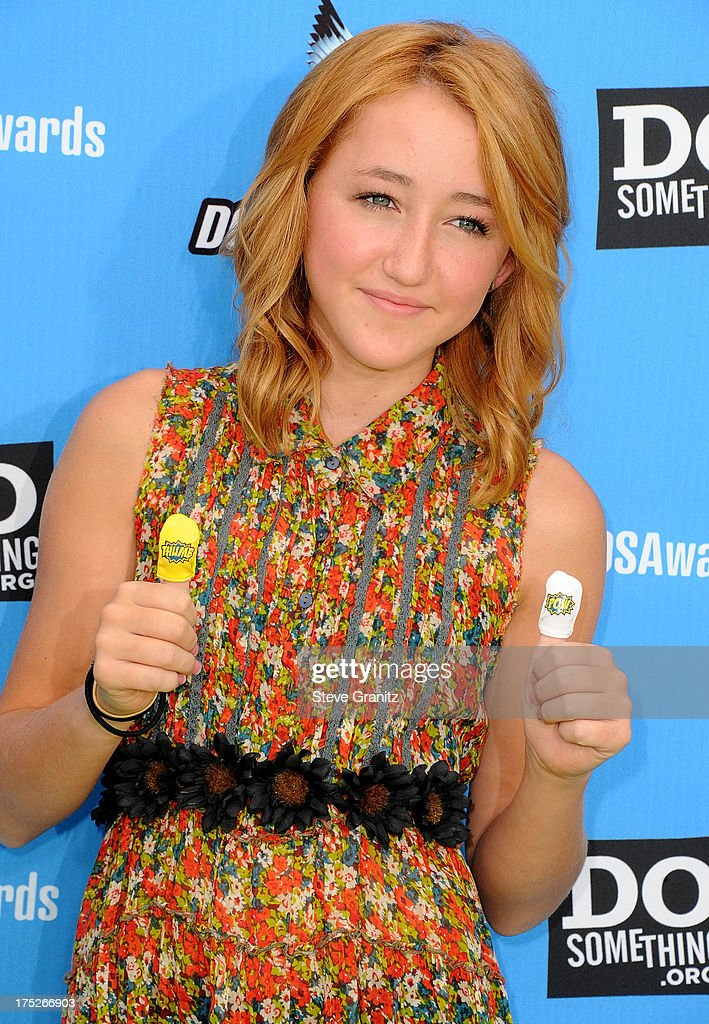 Noah Cyrus arrives at the 2013 Do Something Awards at Avalon on July 31, 2013 in Hollywood, California.