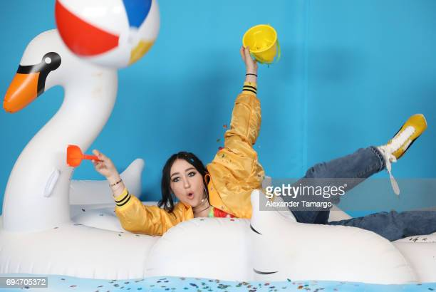 Noah Cyrus attends iHeartSummer '17 Weekend by ATT at Fontainebleau Miami Beach on June 10 2017 in Miami Beach Florida