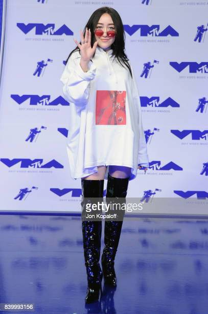 Noah Cyrus attends the 2017 MTV Video Music Awards at The Forum on August 27 2017 in Inglewood California