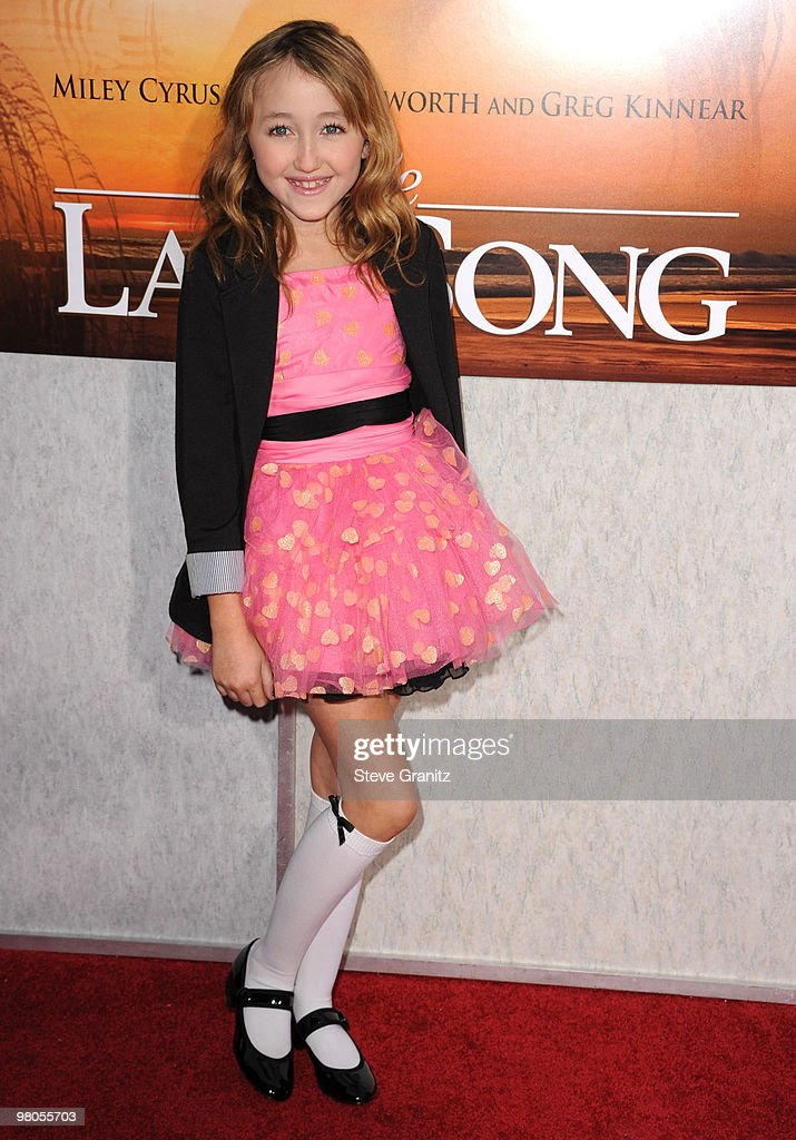 Noah Cyrus attends the 'The Last Song' Los Angeles Premiere at ArcLight Hollywood on March 25, 2010 in Hollywood, California.
