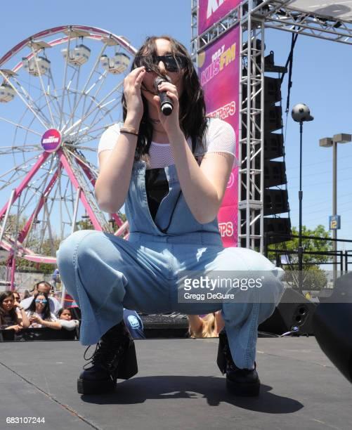 Noah Cyrus performs at 1027 KIIS FM's 2017 Wango Tango at StubHub Center on May 13 2017 in Carson California