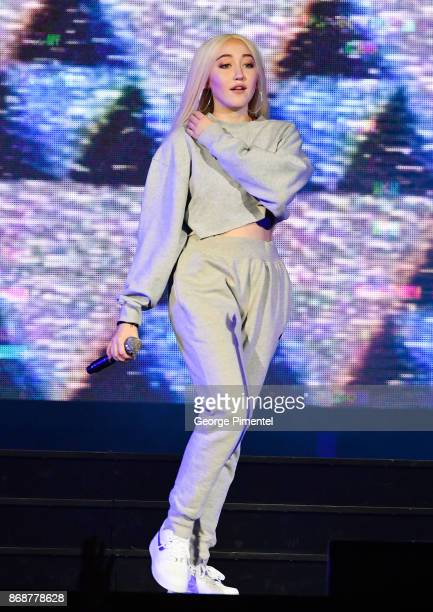 Noah Cyrus performs onstage during Katy Perry 'Witness The Tour' at Air Canada Centre on October 31 2017 in Toronto Canada