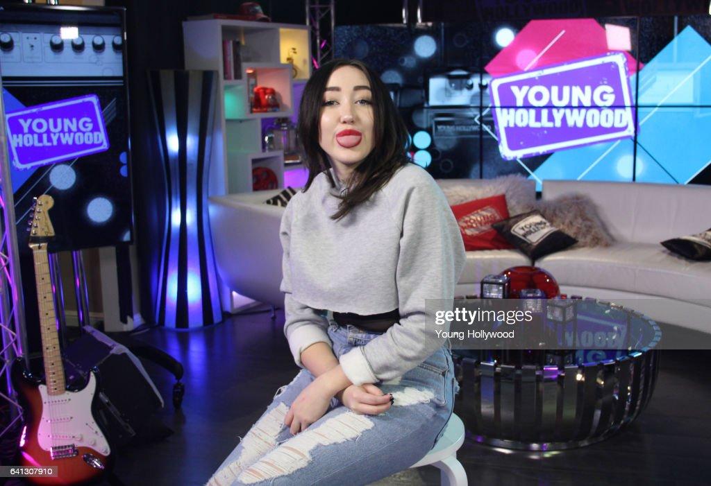 Noah Cyrus Visits Young Hollywood Studio