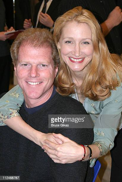 Noah Emmerich and Patricia Clarkson during The Kennedy Center Presents 'A Streetcar Named Desire' Meet Greet at 42nd Street Studios in New York City...