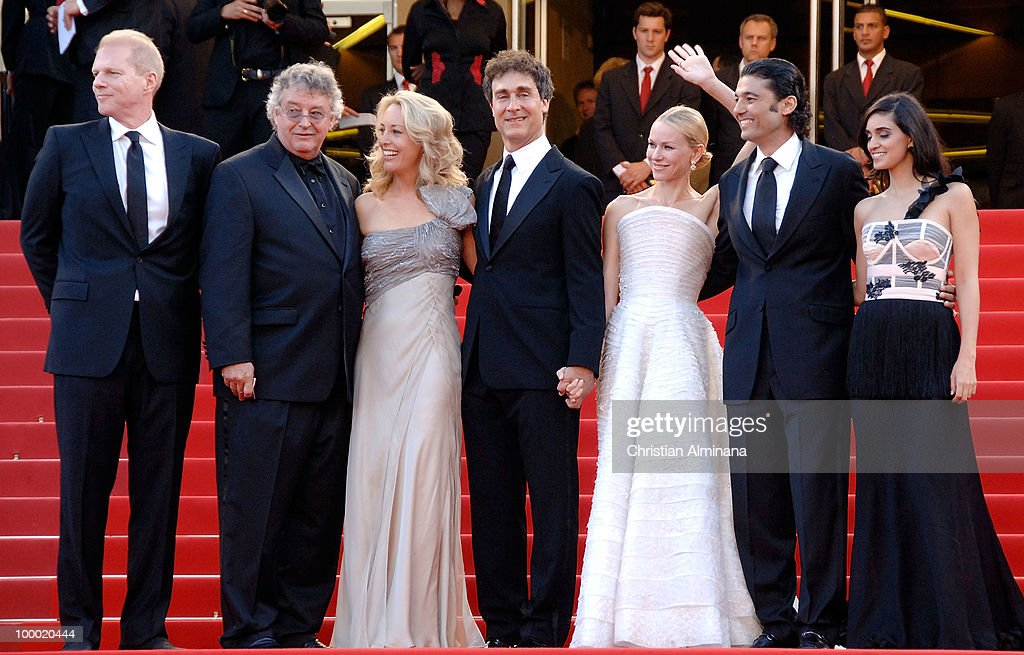 Noah Emmerich, guest, Former CIA agent Valerie Plame, Director Doug Liman, Naomi Watts, Khaled Nabawy and Liraz Charhi attend the 'Fair Game' Premiere held at the Palais des Festivals during the 63rd Annual International Cannes Film Festival on May 20, 2010 in Cannes, France.