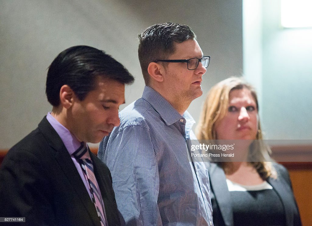 Noah Gaston, 33, of Windham pleads not guilty to charges of murder for shooting his wife, 34-year-old Alicia Gaston, to death in the stairway of their home.