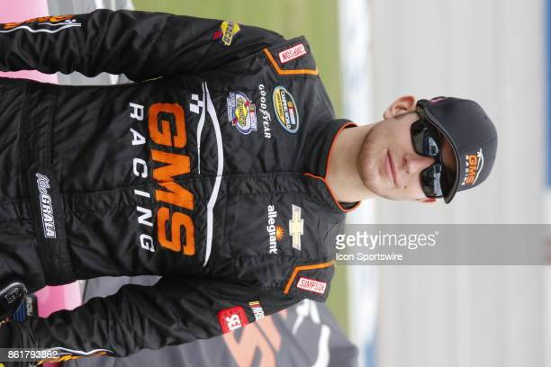 Noah Gragson Switch Toyota Tundra during qualifying for the Freds 250 Camping World Truck Series race on October 14 2017 at Talladega Motor Speedway...
