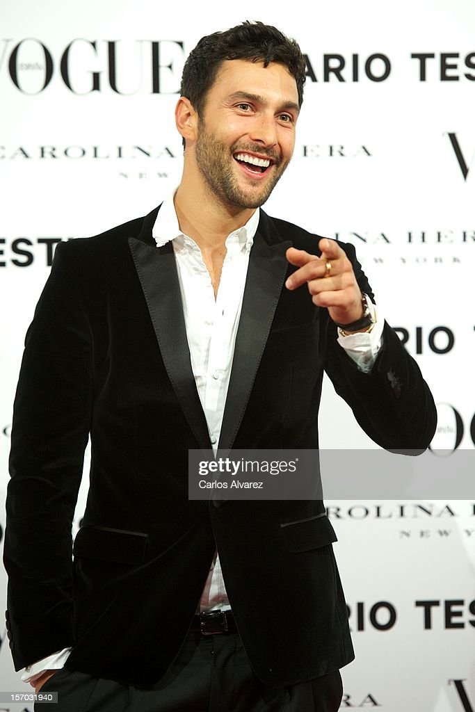 <a gi-track='captionPersonalityLinkClicked' href=/galleries/search?phrase=Noah+Mills&family=editorial&specificpeople=4342511 ng-click='$event.stopPropagation()'>Noah Mills</a> attends the Vogue & Mario Testino party at Fernan Nunez Palace on November 27, 2012 in Madrid, Spain.
