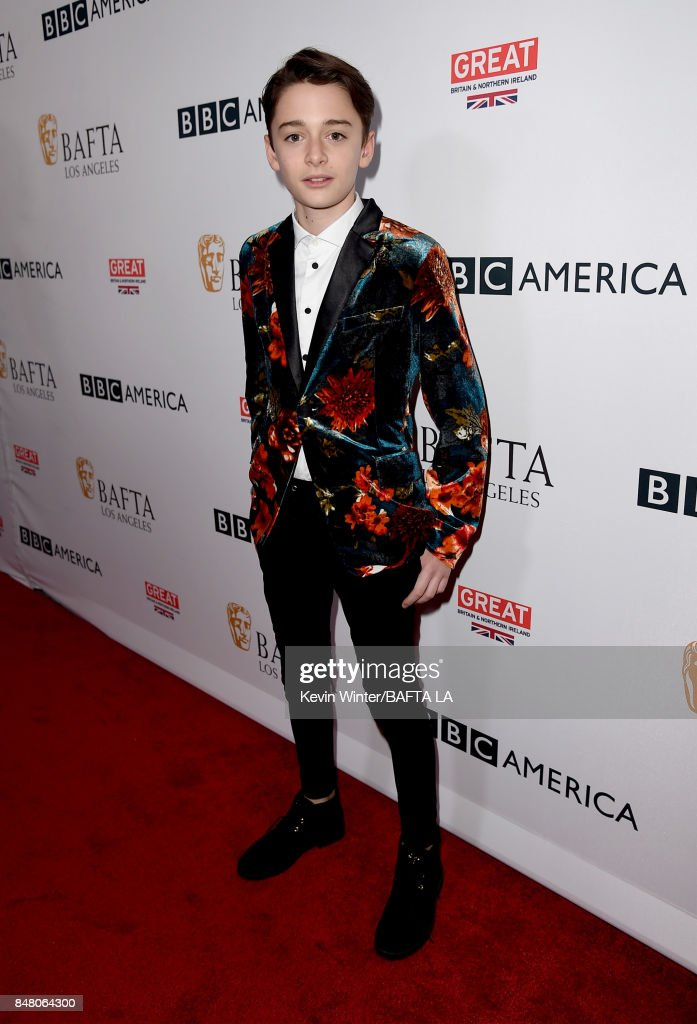 Noah Schnapp attends the BBC America BAFTA Los Angeles TV Tea Party 2017 at The Beverly Hilton Hotel on September 16, 2017 in Beverly Hills, California.