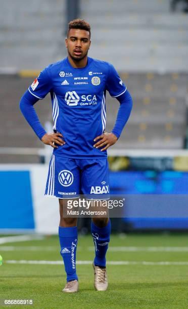 Noah Sonko Sundberg of GIF Sundsvall during the Allsvenskan match between GIF Sundsvall and IFK Goteborg at Idrottsparken on May 22 2017 in Sundsvall...