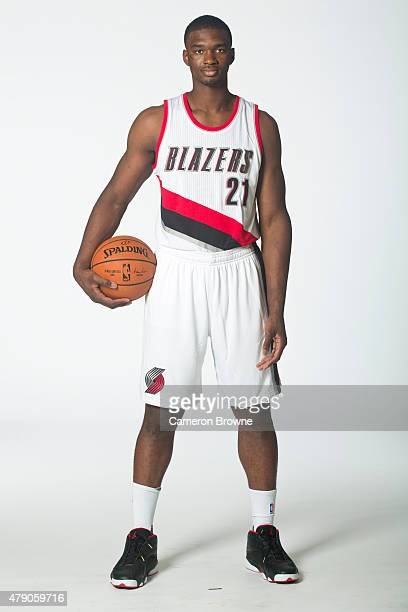 Noah Vonleh of the Portland Trail Blazers poses for a portrait on June 29 2015 at the practice facility in Portland Oregon NOTE TO USER User...