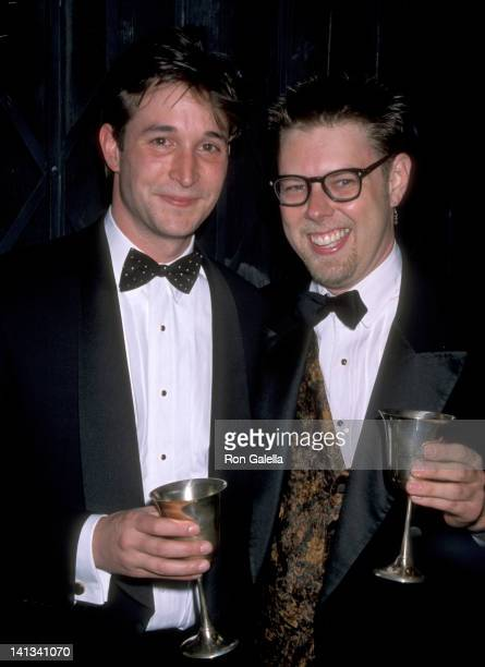 Noah Wyle and Daniel Henning at the Opening Night of 'Hello Again' Blank Theatre Hollywood