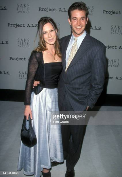 Noah Wyle and Tracy Warbin at the 1st Annual Project ALS Benefit Gala Raleigh Studios Hollywood