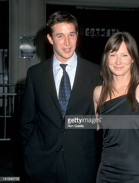 Noah Wyle and Tracy Warbin at the 3rd Annual TV Guide Awards Shrine Auditorium Los Angeles