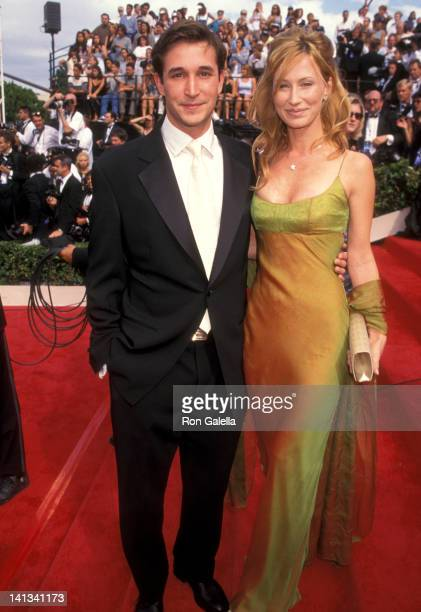 Noah Wyle and Tracy Warbin at the 49th Annual Primetime Emmy Awards Pasadena Civic Auditorium Pasadena