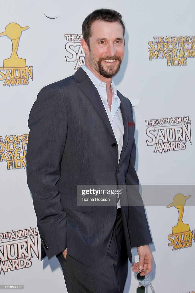 <a gi-track='captionPersonalityLinkClicked' href=/galleries/search?phrase=Noah+Wyle&family=editorial&specificpeople=217263 ng-click='$event.stopPropagation()'>Noah Wyle</a> attends the Academy of Science Fiction, Fantasy & Horror Films 2013 Saturn Awards at The Castaway on June 26, 2013 in Burbank, California.