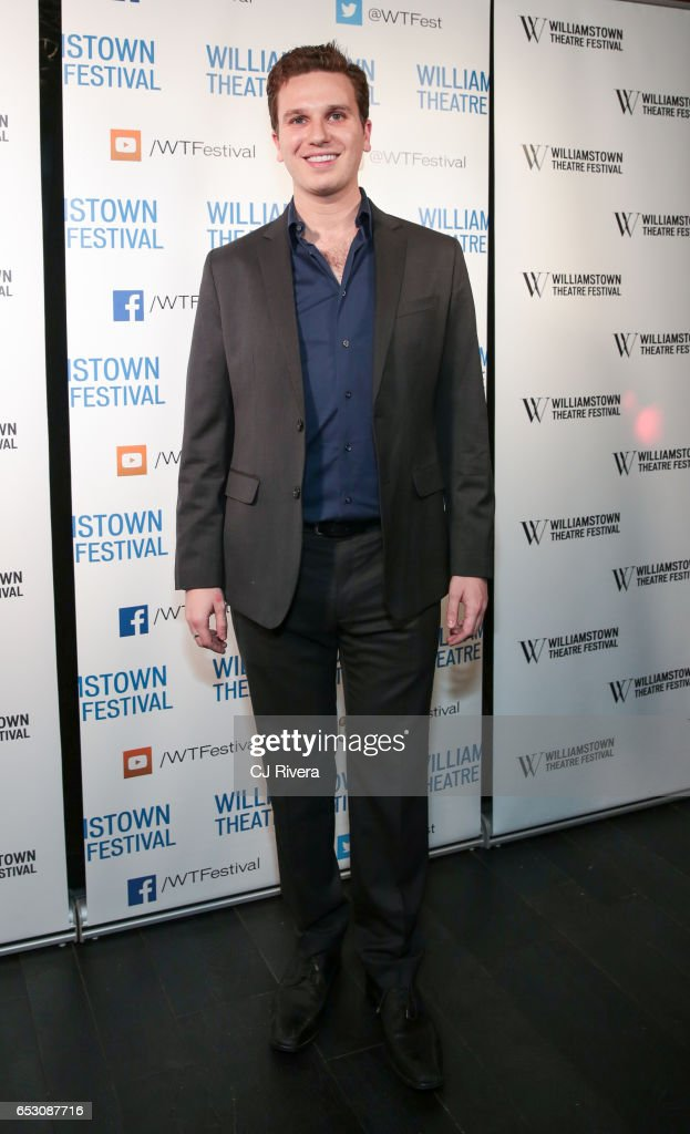 Noah Zachary attends 2017 Williamstown Theatre Festival Gala at TAO Downtown on March 13, 2017 in New York City.