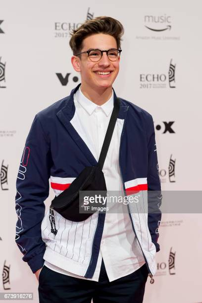 NoahLevi on the red carpet during the ECHO German Music Award in Berlin Germany on April 06 2017
