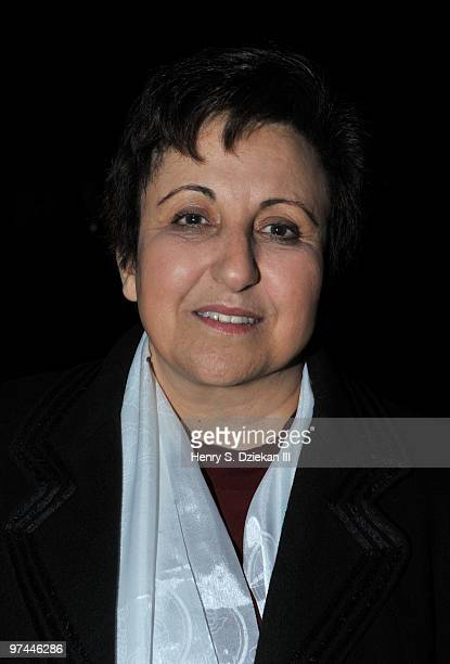 Nobel Laureate Shirin Ebadi attends Thank You Tibet at the Cathedral of St John the Divine on March 4 2010 in New York City