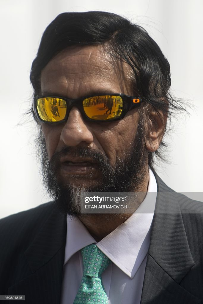 Nobel Peace Prize 2007, India's <a gi-track='captionPersonalityLinkClicked' href=/galleries/search?phrase=Rajendra+Pachauri&family=editorial&specificpeople=4128691 ng-click='$event.stopPropagation()'>Rajendra Pachauri</a>, head of the UN panel of climate scientists walks at the UN COP20 and CMP10 climate change conferences being held in Lima on December 11, 2014. The UN 20th session of the Conference of the Parties on Climate Change (COP20), and the 10th session of the Conference of the Parties serving as the Meeting of the Parties to the Kyoto Protocol (CMP10) entered its second week of negotiations until 12th. AFP PHOTO/Eitan Abramovich