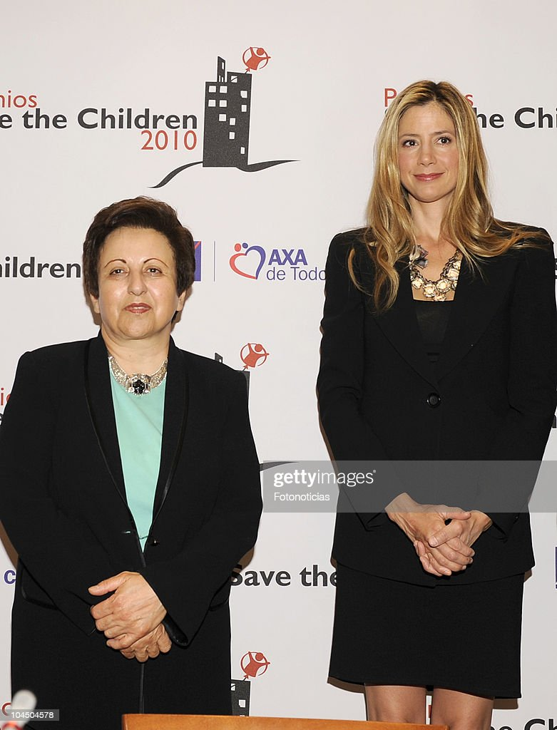 Save The Children Awards Press Conference in Madrid