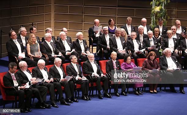 Nobel Physics Prize 2015 cowinners Japanese Takaaki Kajita and Canadian Arthur B McDonald Nobel Chemistry Prize 2015 cowinners Sweden's Tomas Lindahl...