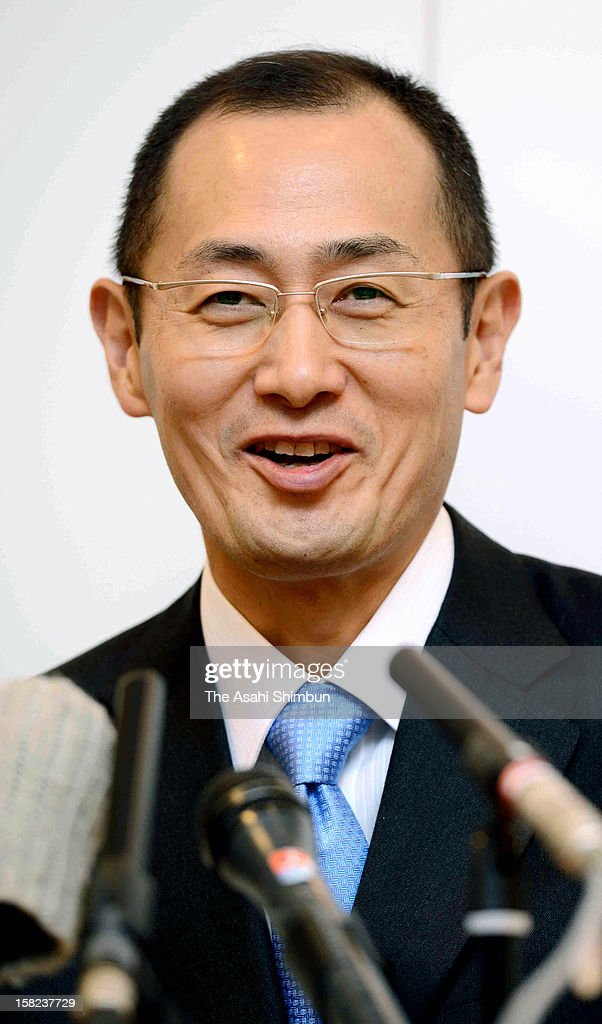 Nobel Prize in Medicine laureate Shinya Yamanaka speaks a press conference a day after attending the award ceremony on December 11, 2012 in Stockholm, Sweden.