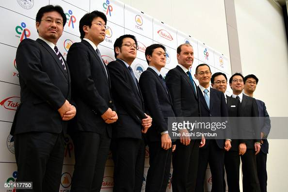 Nobel Prize laureate and Kyoto University Center for iPS Cell Research and Application directro Shinya Yamanaka and Takeda Pharmaceutical Co...