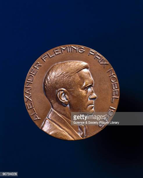 Nobel prize medal awarded to Alexander Fleming In 1928 Alexander Fleming had discovered that a strain of penicillium mould exuded a substance which...