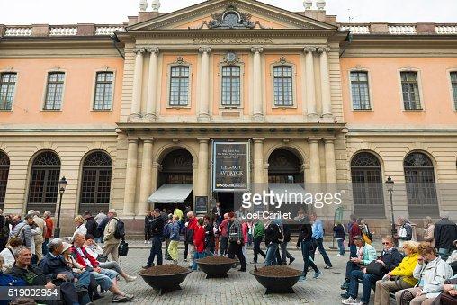 Nobel Prize Museum in Stockholm, Sweden