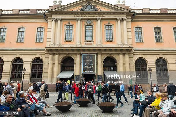 Prémio Nobel museu, em Estocolmo, Suécia