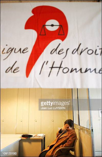 Nobel Prize Shirin Ebadi Meets Legal Service For Human Rights League In Paris On December 15 2003 In Paris France