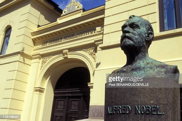 Nobel Prize The Academies in Stockholm Sweden in May 1996 The Norwegian Nobel Institute in Oslo The committee meets five or six times per year The...