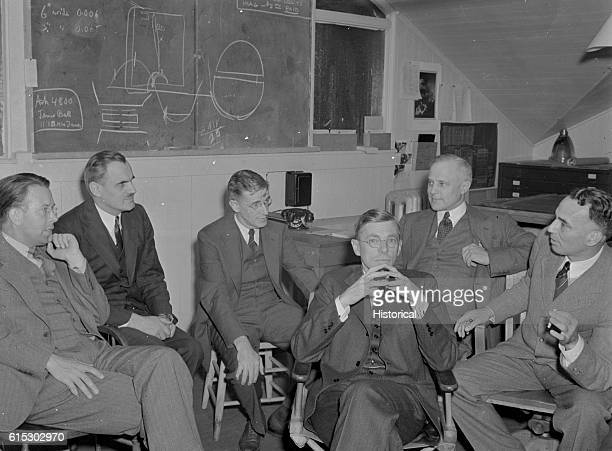 Nobel Prize winners and physicists Ernest Orlando Lawrence and Arthur Holly Compton Director of the Office of Scientific Research and Development...