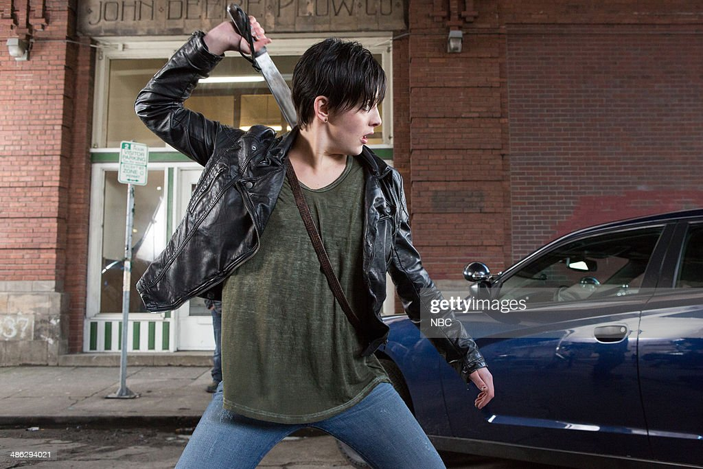 GRIMM 'Nobody Knows the Trubel I've Seen' Episode 319 Pictured Jacqueline Toboni as Teresa Rubel