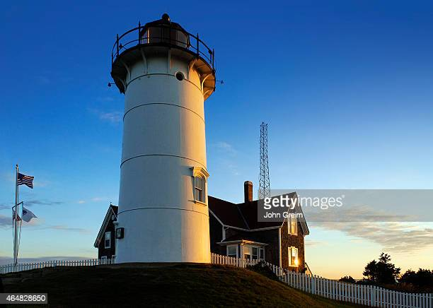 Nobska Point Light Woods Hole Cape Cod Massachusetts USA